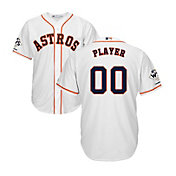 Majestic Men's Full Roster Replica 2017 World Series Champions Houston Astros Cool Base Home White Jersey