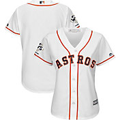 Majestic Women's 2017 World Series Champions Replica Houston Astros Cool Base Home White Jersey