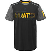 Majestic Youth Pittsburgh Pirates Cool Base Club Series Black Performance T-Shirt