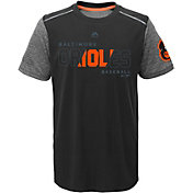Majestic Youth Baltimore Orioles Cool Base Club Series Black Performance T-Shirt