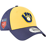 New Era Men's Milwaukee Brewers 39Thirty PROLIGHT 2018 Spring Training Stretch Fit Hat