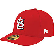 New Era Men's St. Louis Cardinals 59Fifty Game Red Low Crown Authentic Hat