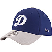 New Era Men's Los Angeles Dodgers 39Thirty Diamond Era Royal/Grey Flex Hat