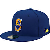 New Era Men's Seattle Mariners 59Fifty Alternate Royal Authentic Hat