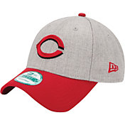 New Era Men's Cincinnati Reds 9Forty Grey Adjustable Hat
