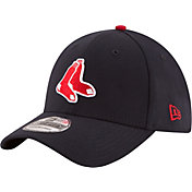 New Era Men's Boston Red Sox 39Thirty Alternate Classic Navy Stretch Fit Hat