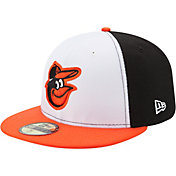 New Era Men's Baltimore Orioles 59Fifty Home White/Black Authentic Hat