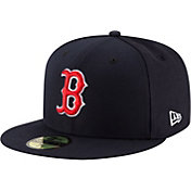 New Era Men's Boston Red Sox 59Fifty Game Navy Authentic Hat