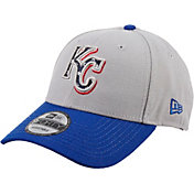 New Era Men's Kansas City Royals Americana 9Forty Grey Adjustable Hat