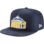 New Era Men's Denver Nuggets On-Court 9Fifty Adjustable Snapback Hat