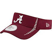 New Era Men's Alabama Crimson Tide Crimson Speed Visor