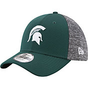 New Era Men's Michigan State Spartans Grey Fierce Fill 39THIRTY Hat