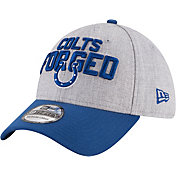 New Era Men's Indianapolis Colts 2018 NFL Draft 39Thirty Stretch Fit Grey Hat