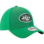 New Era Men's New York Jets Color Rush 2017 On-Field 39Thirty Stretch Fit Hat