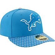 New Era Men's Detroit Lions Sideline 2017 On-Field 59Fifty Fitted Hat