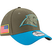 New Era Men's Carolina Panthers Salute to Service 2017 39Thirty Stretch Fit Hat