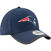New Era Men's New England Patriots 2017 Training Camp 39Thirty Navy Flex Hat