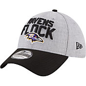 New Era Men's Baltimore Ravens 2018 NFL Draft 39Thirty Stretch Fit Grey Hat