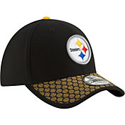 New Era Men's Pittsburgh Steelers Sideline 2017 On-Field 39Thirty Stretch Fit Hat
