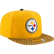 New Era Men's Pittsburgh Steelers Sideline 2017 On-Field 9Fifty Snapback Adjustable Hat