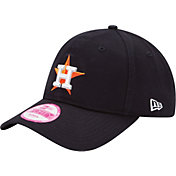 New Era Women's Houston Astros 9Forty Essential Navy Adjustable Hat