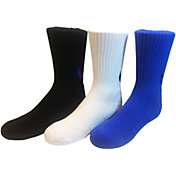Nike Boys' Graphic Crew Socks 3 Pack