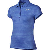 Nike Girls' Printed Golf Polo