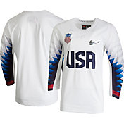 Nike Men's USA Hockey Replica White Jersey