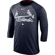 Nike Men's St. Louis Cardinals Dri-FIT Authentic Collection Legend Three-Quarter Sleeve Shirt