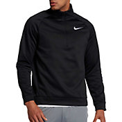 Nike Men's Therma Long Sleeve Quarter Zip Shirt