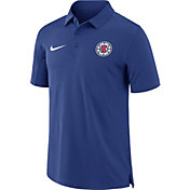 Nike Men's Los Angeles Clippers Dri-FIT Royal Core Polo