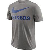 Nike Men's Philadelphia 76ers Dri-FIT Legend Grey T-Shirt