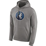Nike Men's Minnesota Timberwolves Club Grey Pullover Hoodie