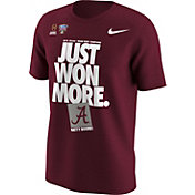 Nike Men's Alabama Crimson Tide 2018 Allstate Sugar Bowl Champions Locker Room T-Shirt