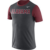 Nike Men's Alabama Crimson Tide Anthracite/Crimson Championship Drive Dri-Blend T-Shirt