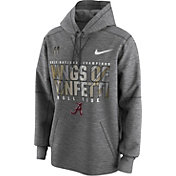 Nike Men's 2017 National Champions Locker Room Alabama Crimson Tide Performance Hoodie