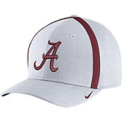Nike Men's Alabama Crimson Tide White AeroBill Football Sideline Coaches Classic99 Hat