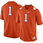 Nike Men's Clemson Tigers #1 Orange Game Football Jersey