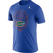 Jordan Men's Florida Gators Blue Dri-FIT Football Icon T-Shirt