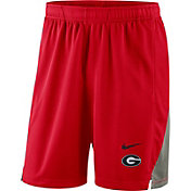 Nike Men's Georgia Bulldogs Red Franchise Shorts