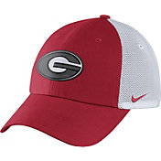 Nike Men's Georgia Bulldogs Red/White Heritage86 Performance Trucker Hat