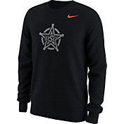 Nike Men's Oklahoma State Cowboys Black Alt Logo Football Long Sleeve Shirt