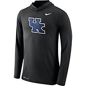 Nike Men's Kentucky Wildcats Black Dri-Blend Hoodie Long Sleeve Shirt