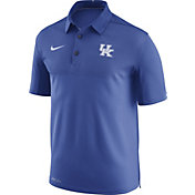 Nike Men's Kentucky Wildcats Blue Elite Football Sideline Polo