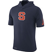 Nike Men's Syracuse Orange Blue Basketball Hoodie Performance T-Shirt