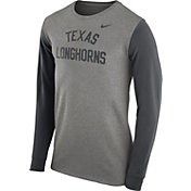 Nike Men's Texas Longhorns Grey Heavyweight Elevated Essentials Long Sleeve Shirt