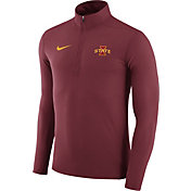 Nike Men's Iowa State Cyclones Cardinal Element Performance Quarter-Zip