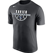 Nike Men's Xavier Musketeers Grey Basketball Legend T-Shirt