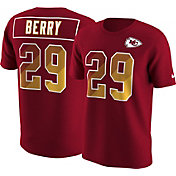 Nike Men's Kansas City Chiefs Eric Berry #29 Prism Player Red T-Shirt