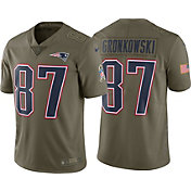 Nike Men's Home Limited Salute to Service New England Patriots Rob Gronkowski #87 Jersey